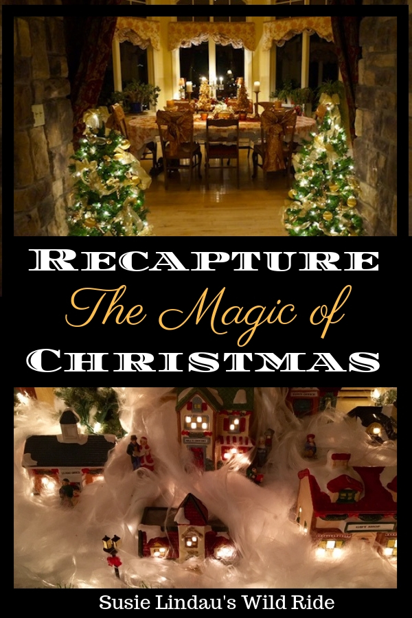 Recapture the magic of Christmas by suspending disbelief. Click to find out how! Christmas traditions and ideas, Holiday tips and tricks, home decor, photography, live your best life, life lessons, funny blog posts, humor, positivity and inspiration, tips, hacks and DIYs #holiday #christmas #inspiration #lifelessons #Holidaytips