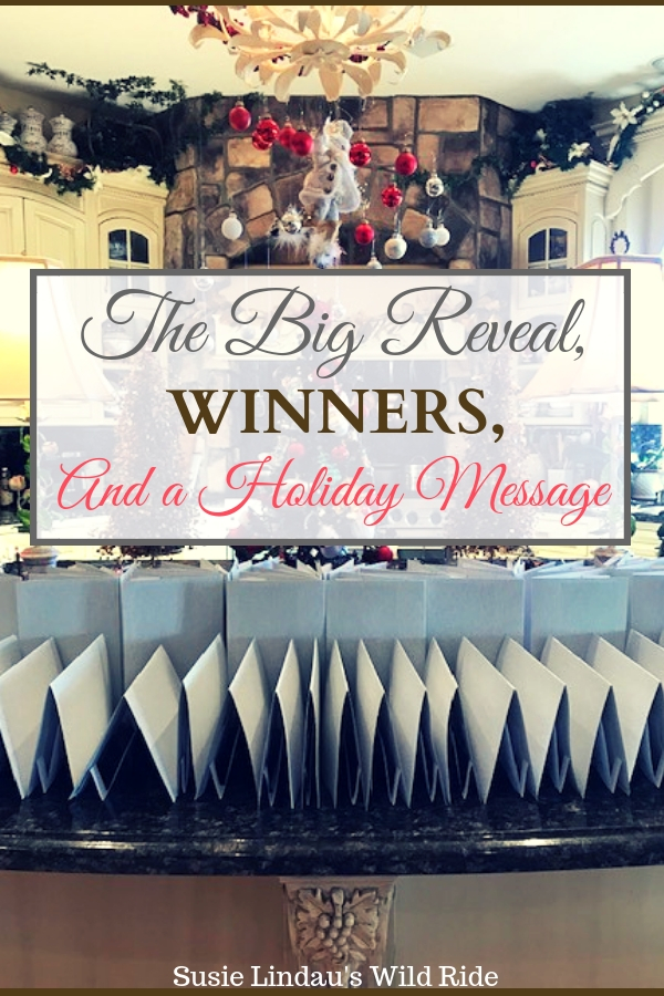 The Big Reveal, Winners, and a Holiday Message. Click to see this year's card, who won, and for a holiday message! Diy, crafting, traditions, holiday greeting cards, illustrations #diy #crafting #christmascards #holidaycards #illustrations