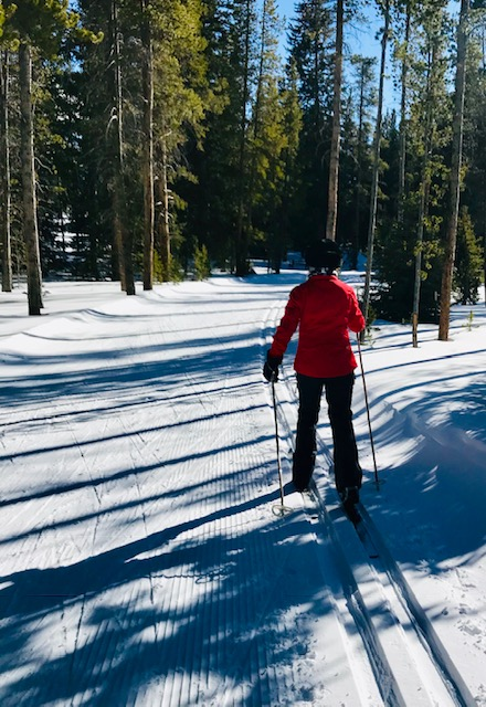 Nordic Skiing in Breckenridge, one of many activities listed in my ultimate guide. Click for photos and ideas for you next trip to Breckenridge, Colorado! Travel North America, United States, ski resorts, winter activities, outdoor adventures #travel #breckenridge #colorado #outdooradventures #skiing