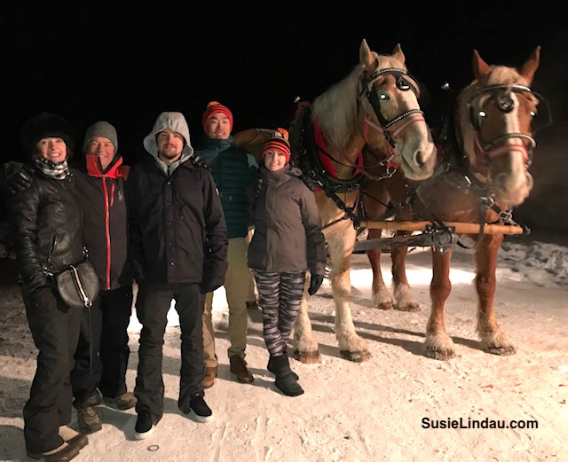 Sleigh Ride with Breckenridge Stables