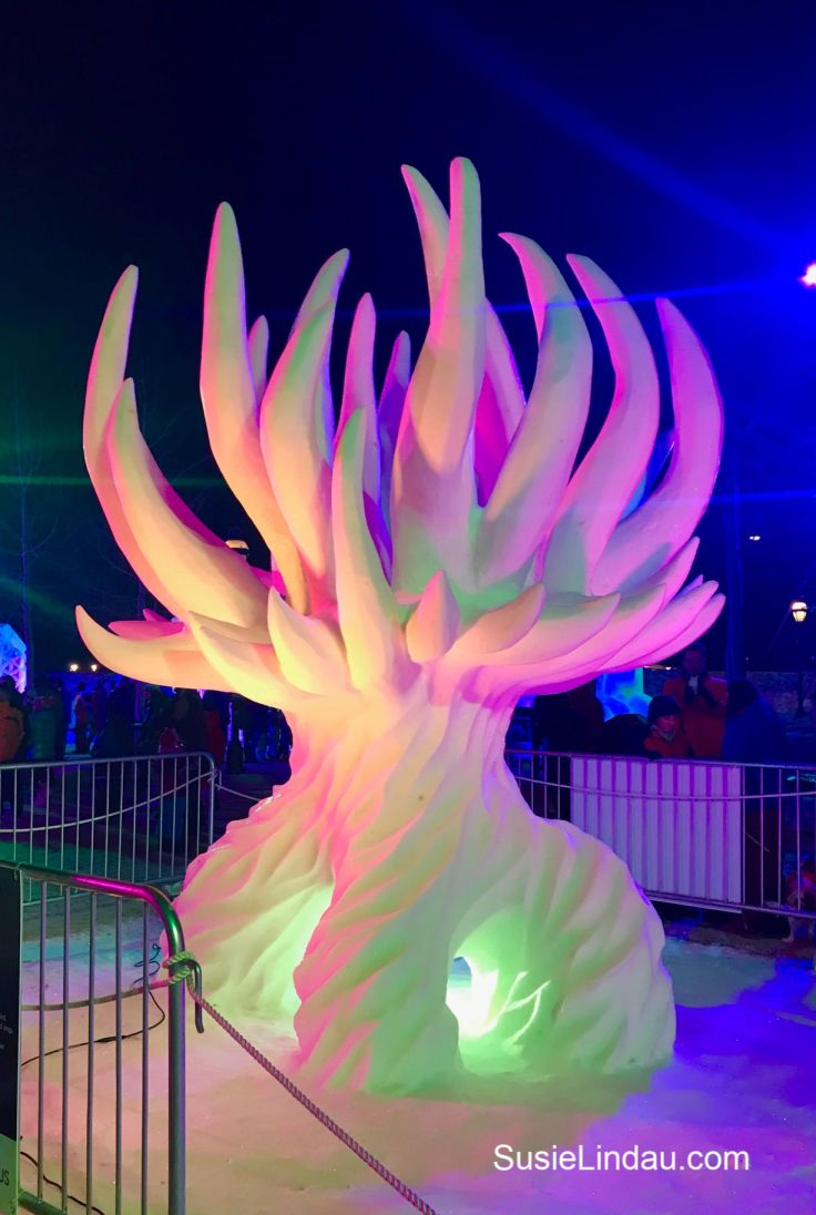 Snow sculpture challenge in Breckenridge. Click for photos of this amazing competition! Travel Colorado, North America #snowsculpture #colorado #Breckenridge
