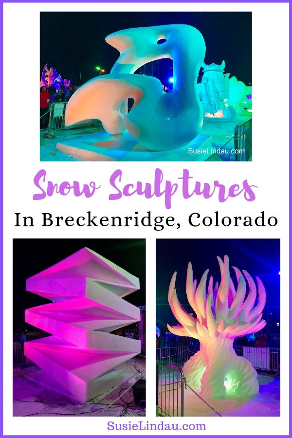 International Snow Sculptures in Breckenridge, Colorado. Click for a virtual tour of my favorite photos! Travel Colorado, Tips and advice for North America and eye candy #snowsculptures #travel #breckenridge #colorado #eyecandy