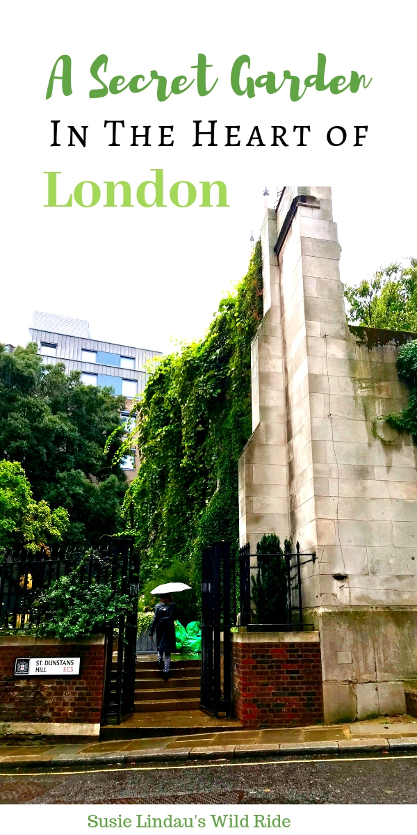 A Secret Garden in the Heart of London. Click for photos and a little history about this magical and Instagrammable place! Travel Europe Destination, London, England, Travel tips and advice, bucket list ideas, outdoor adventures, magic gardens #travel #traveltips #london #England #gardens