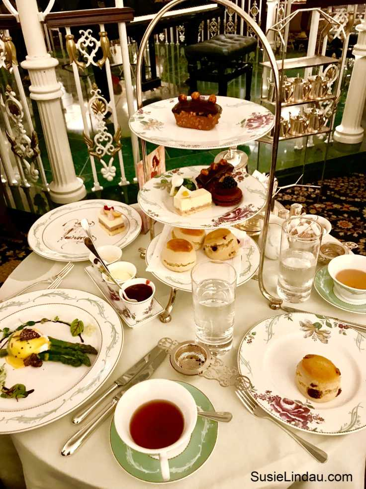 Sweet High Tea at the Savoy in London because one dessert just isn't enough! Click for photos of this amazing feast and a review of the Play that Goes Wrong. Entertainment, Travel London, England, Europe Destinations, Travel Tips and Advice, Food porn, theater, Things to do in London #hightea #thesavoy #london #traveltips #highteainlondon