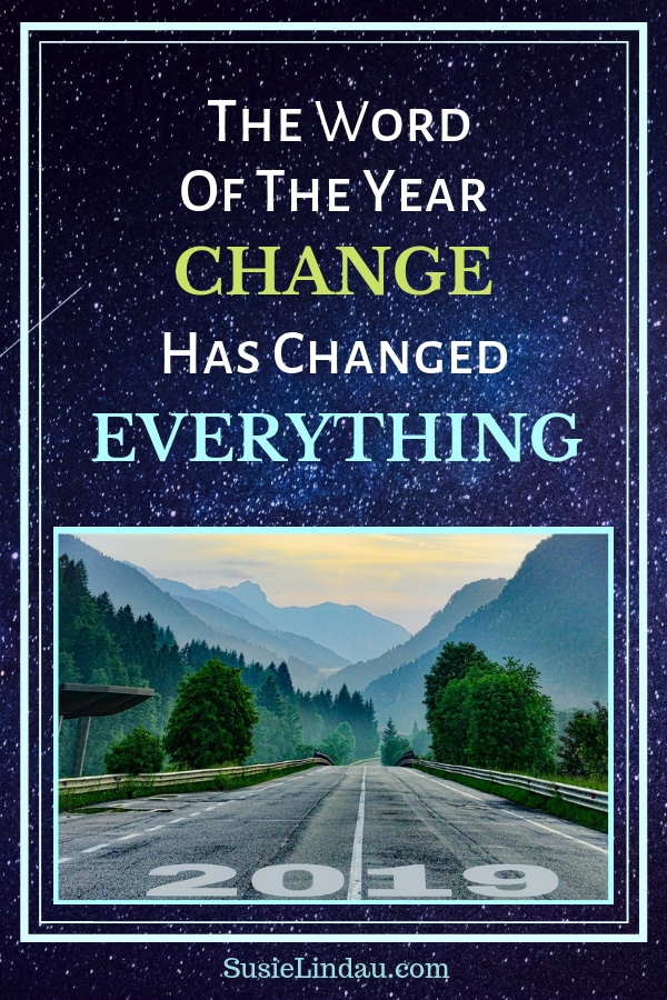 How the word of the year change has changed everything! Pin for Pinterest