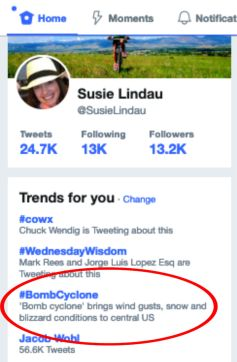 #BombCyclone trends on Twitter. How a strange weather pattern caused such a huge storm!