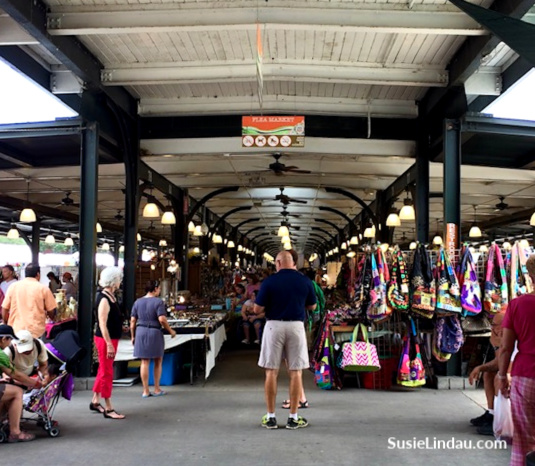Shop at the Colonnade Market in the French Quarter in NOLA! Click for things to do when visiting!