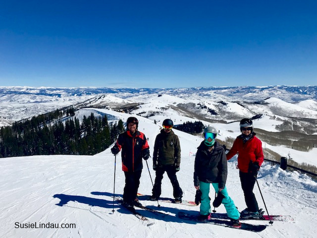 Skiing and Playing in Park City!