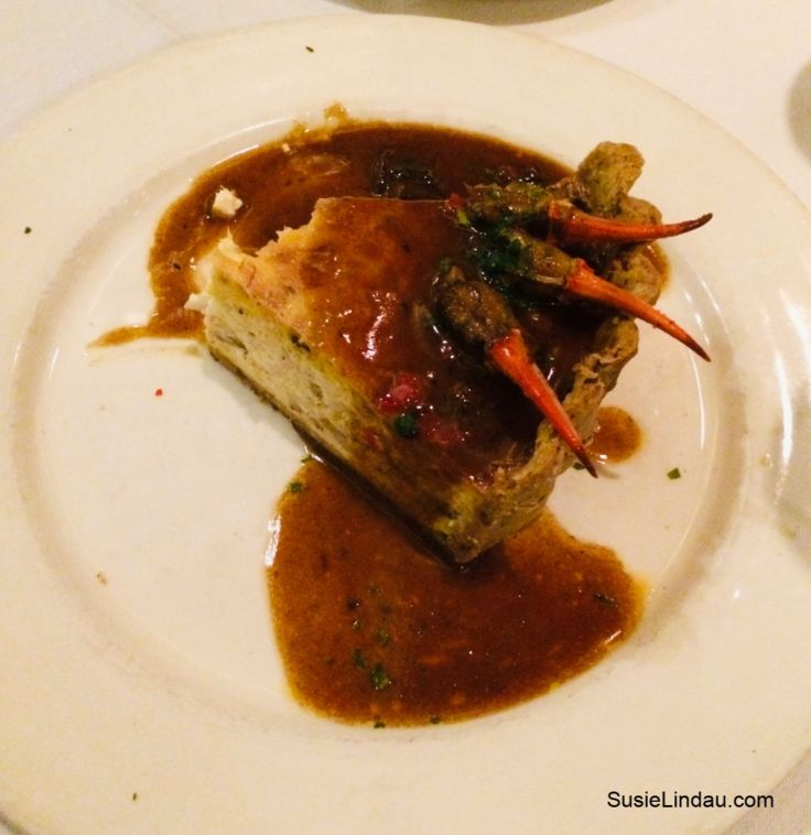 New Orleans dinner at the Palace Cafe. Click for a weekend guide to New Orleans!