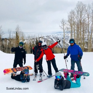 Fun in Park City! Skiing and snowboarding in the largest area in the United States.