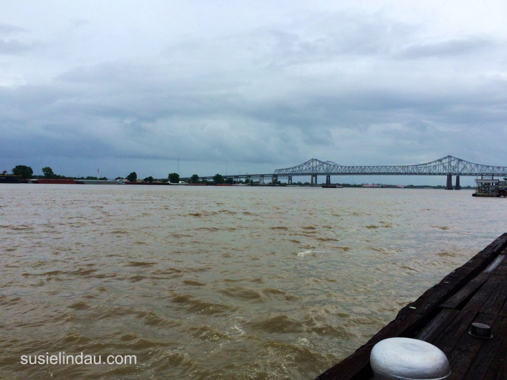 The Mighty Mississippi! Click for things to do in the French Quarter!