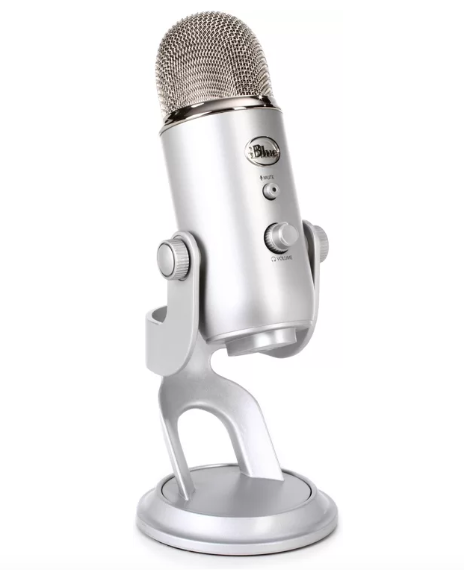 Yetti Microphone bought for The Wild Side podcast.