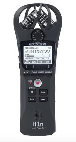 Zoom Hand Held Recorder used for interviews on The Wild Side podcast!
