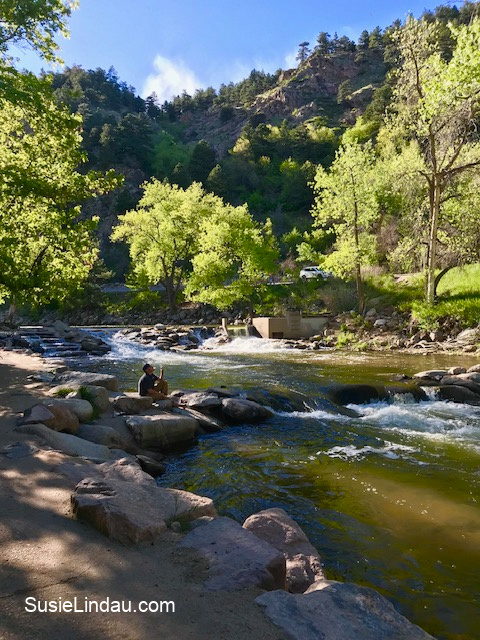 Boulder Creek, a perfect spot for chilling out. Click for photos!