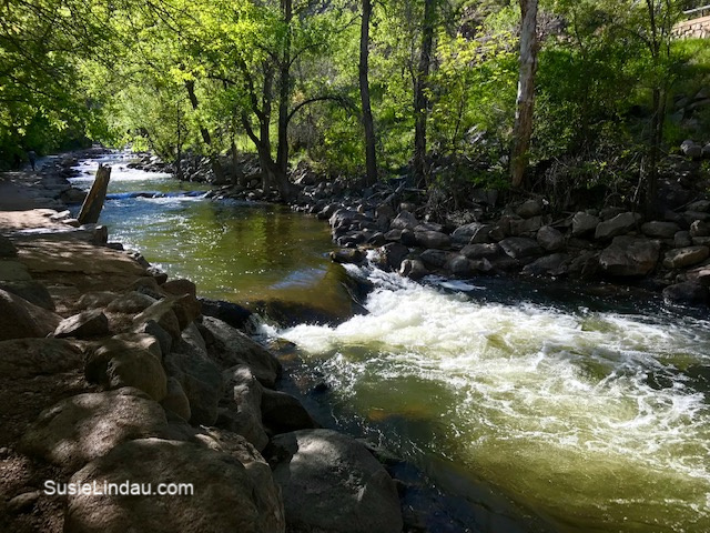 Boulder Creek! Click for photos of this extraordinary place in downtown Boulder!