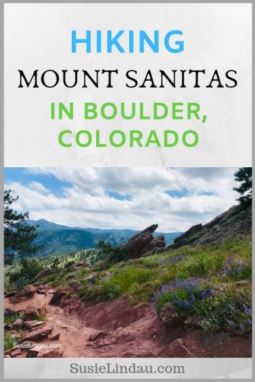 Hiking Mount Sanitas in Boulder, Colorado. Click for photos and a guide to one of Boulder's best hikes! Outdoor adventures | Boulder travel | Colorado vacations | Colorado hikes | Boulder hikes | Travel North America #Colorado #Coloradohikes #Boulder #Bouldertravel #outdooradventures
