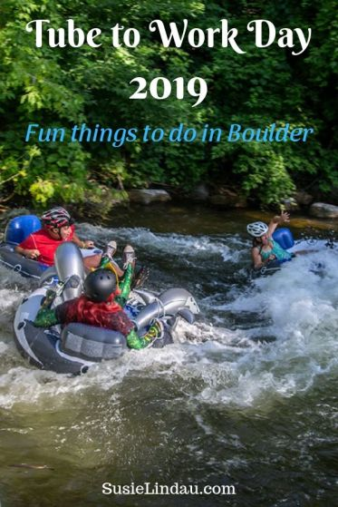 Tube to Work Day 2019 - Fun things to do in Boulder
