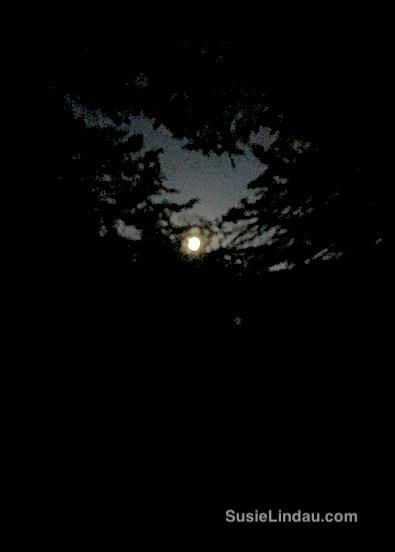 Moon over Indian Peaks