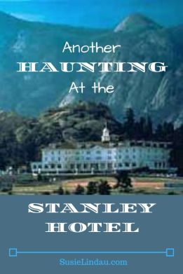 A title poster with the words Another Haunting at the Stanley Hotel