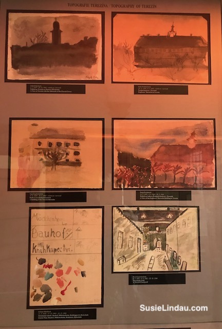Art by children in extermination camps