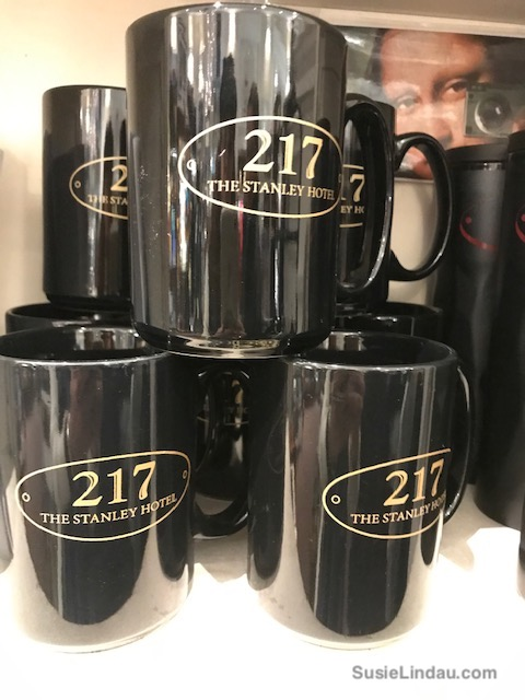 Room 217 mugs at the Stanley
