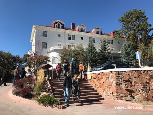 The Stanley Hotel in October