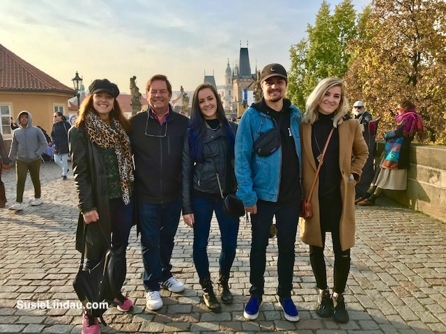 Lindau Family in Prague