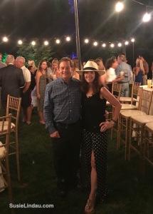 Danny and Susie at Dewitt wedding