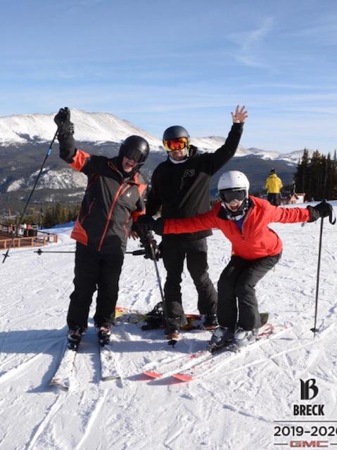 Danny, Kelly, Susie Lindau at Breck
