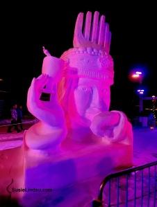 Bride by China Snow Sculpture Breckenridge