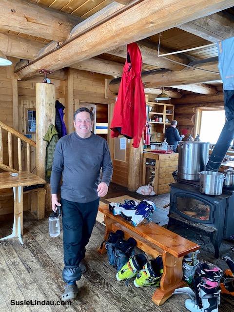 Danny in the Francie's Cabin
