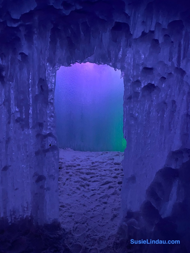 Ice Castle doorway