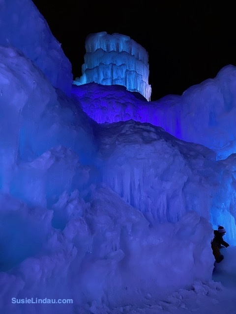 Ice Castles 10 with decorative dome