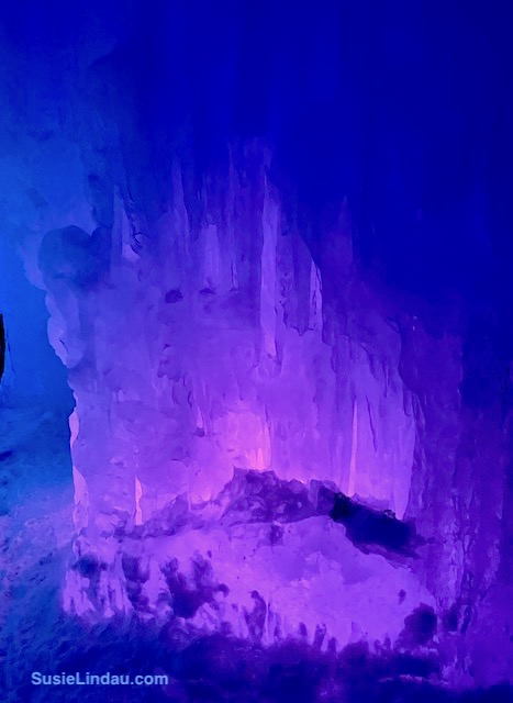 Ice Castles 12 - A purple bed of ice