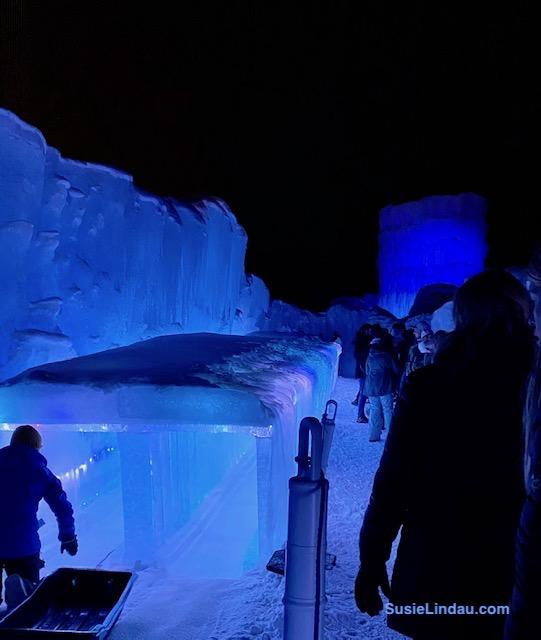 Ice Slide Ice Castles Colorado