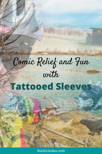 Comic Relief and Fun with Tattooed Sleeves! All about bringing a smile to your face during the coronavirus.