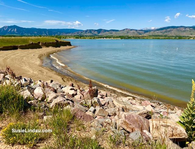 Boulder Reservoir shoreline