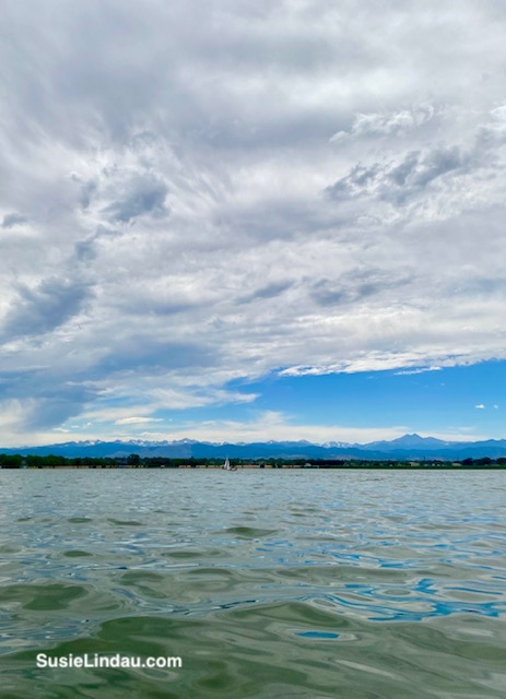 Front range from Union reservoir