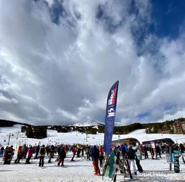 Skiing Breck November