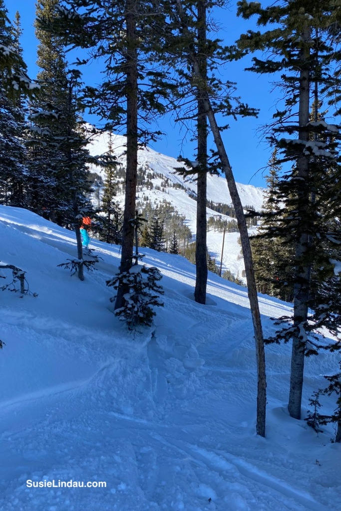 Sneaking a peek at Peak 8 Breckenridge