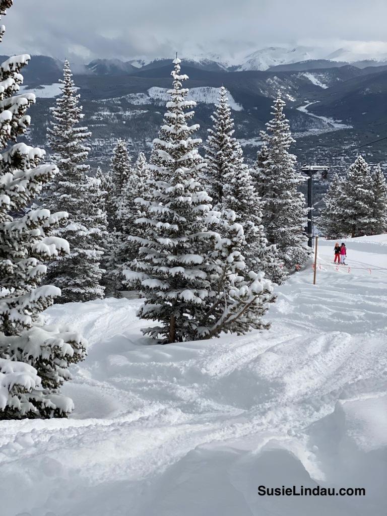 Breckenridge Ski Resort under deep powder