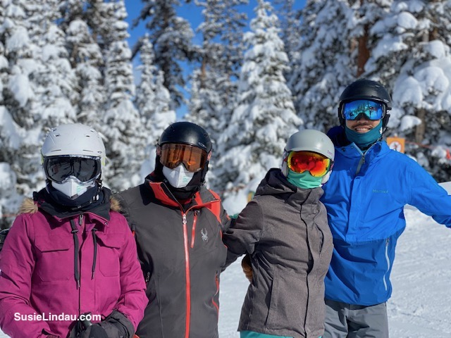 Masked up in Crested Butte