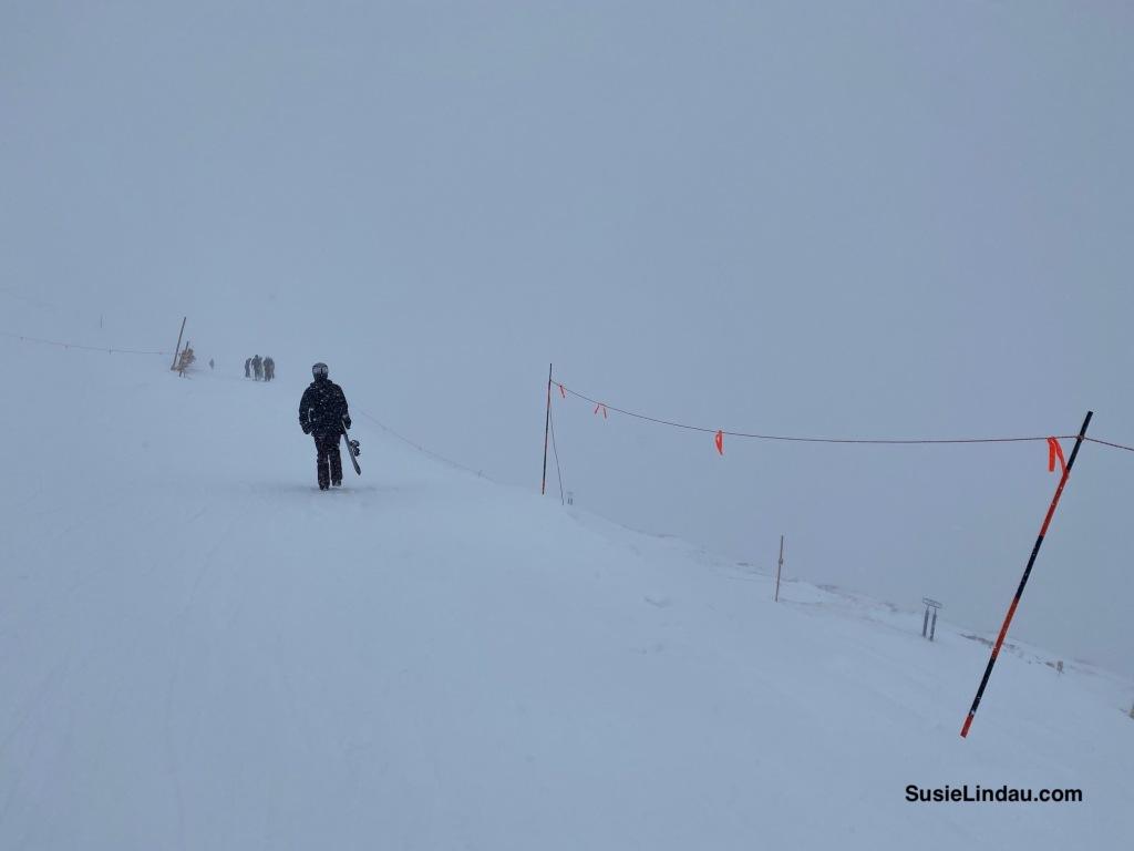 Peak 8 ridge at T-Bar