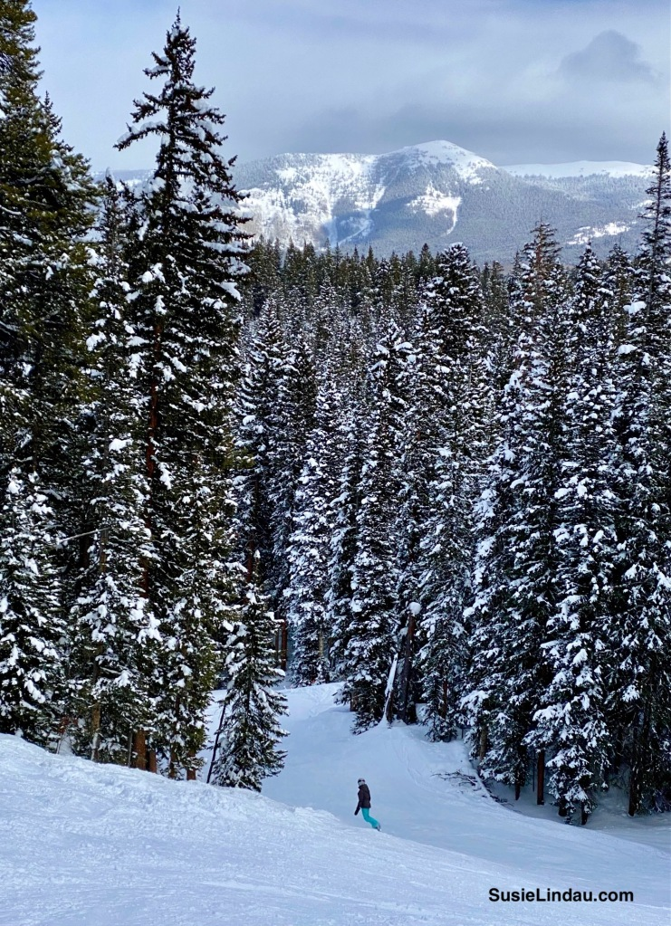 Snowboarding in Crested Butte Colorado