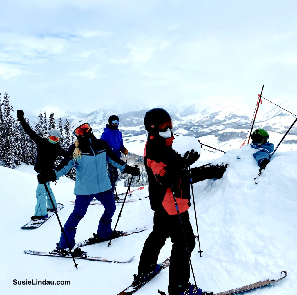 The gang in Crested Butte