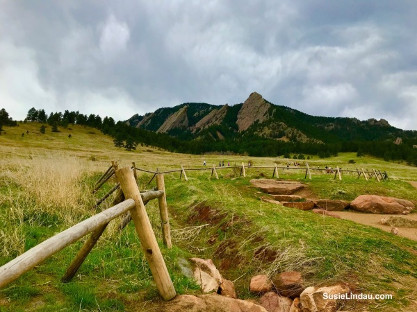 Chautauqua and the Flatirons in Boulder