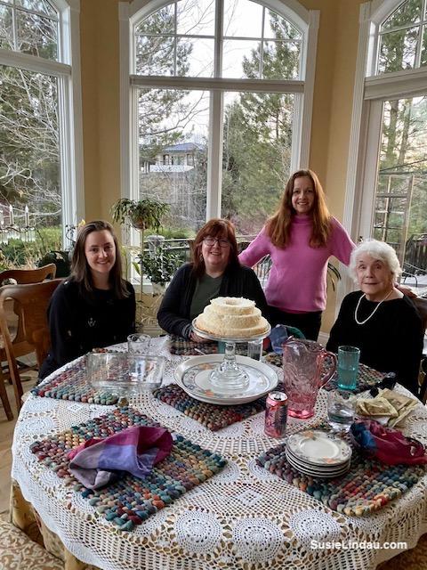 Mom, Courtney, Patty, Susie Lindau