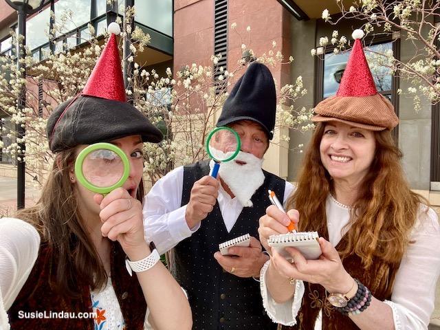 CluedUpp Mystery The Sherlock Gnomes