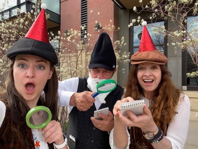 The Sherlock Gnomes crack the case CluedUpp